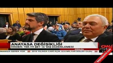 Sırrı Süreyya Önder HDP grubunda konuştu