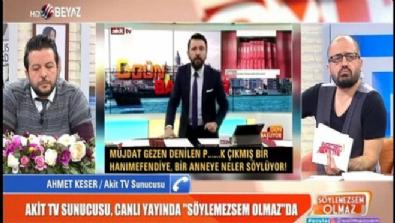 Akit TV sunucusu, Müjdat Gezen'e neden küfrettiğini canlı yayında açıkladı