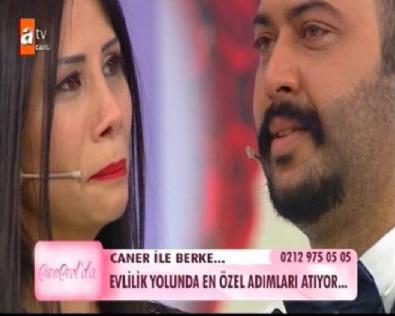 Esra Erol - Caner Toygar'dan Berke'ye herkesi ağlatan evlilik teklifi