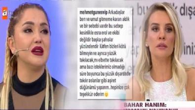 Bahar ve Mehmet programdan neden ayrıldı? Esra Erol'dan sert açıklama