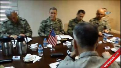Genelkurmay Başkanı Akar, İncirlik'te ABD'li mevkidaşı ile görüştü