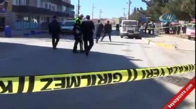 silahli saldiri - Uşak'ta pazar yerinde silahlı kavga: 2 ölü