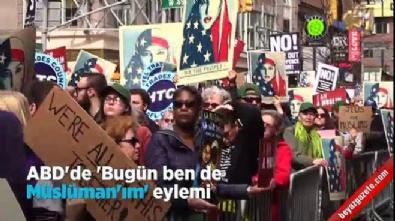 ABD'de 'bugün ben de Müslüman'ım' eylemi İzle