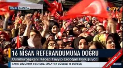 Cumhurbaşkanı Erdoğan: Gerekirse idam için de bir referandum yapabiliriz