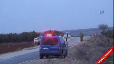 Kilis'te askeri araç devrildi