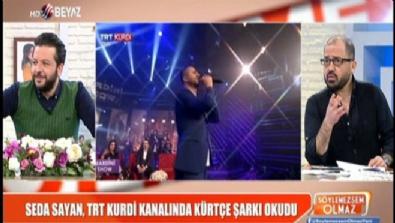Seda Sayan,TRT Kurdi kanalında Kürtçe şarkı okudu
