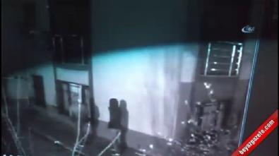 Hırsızlık görüntüleri kamerada