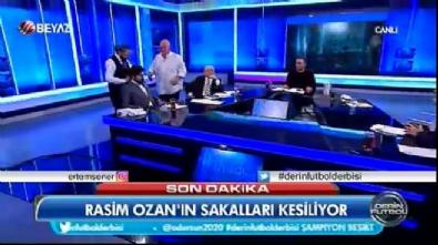 Rasim Ozan iddiayı kaybetti: Sakallarını kestirdi
