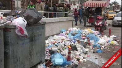 İzmir Karabağlar'da işçiler greve gitti