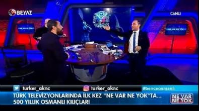 Türk televizyonlarında ilk kez! Şehzade Orhan kılıç kuşandı