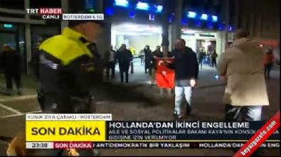 Hollanda polisinden Türklere müdahale