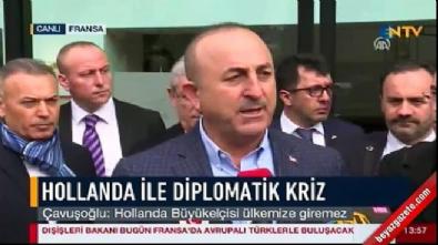 Bakan Çavuşoğlu: Özür yetmez karşılığı olacak