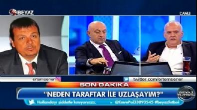 Ahmet Çakar ile Ergin Ataman arasında tartışma
