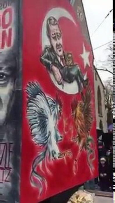 İsviçre'de Osmanlı karşıtı çirkin gösteri