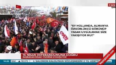 Başbakan Yıldırım: Hollanda'ya, Türkiye ayar verdi