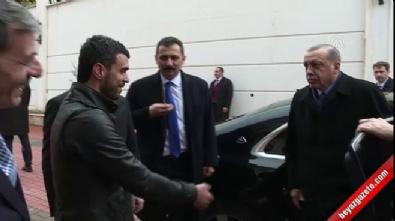 Cumhurbaşkanı Erdoğan Kenan Sofuoğlu'nu evinde ziyaret etti
