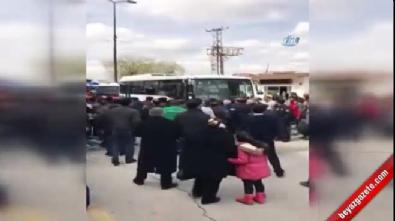 Ankara'daki feci kaza kamerada