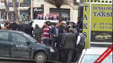 Gaziantep Emniyet Müdürlüğü önünde silahlı kavga