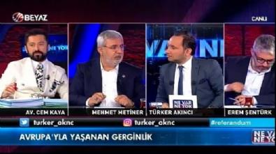 antalya - Mehmet Metiner'den Baykal'a: Edepli ol diline ayar ver