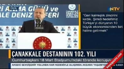 Cumhurbaşkanı Erdoğan: Cumhurbaşkanlığı sistemi yerlidir, millidir