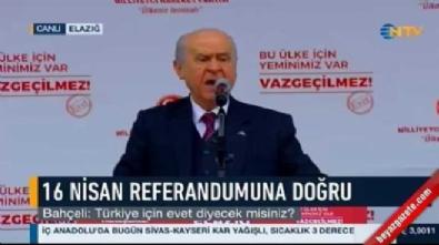 Devlet Bahçeli: 'Evet' oyları Kılıçdaroğlu'nun uykularını kaçıracak, Avrupa'ya kapak olacak