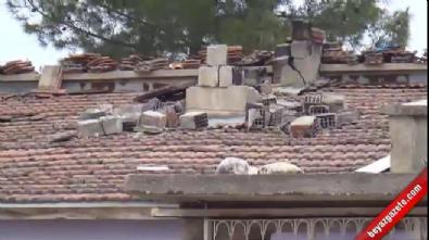 deprem - Samsat depremde ağır hasar gördü