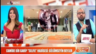beyaz tv - Camide bir garip ''Selfie'' hadisesi; gülümseyin beyler