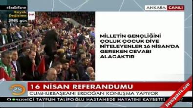Erdoğan 'hayır'cı takımını özetledi