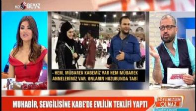 beyaz tv - ''Kabede evlilik teklifi'' görüntülerine tepki yağdı