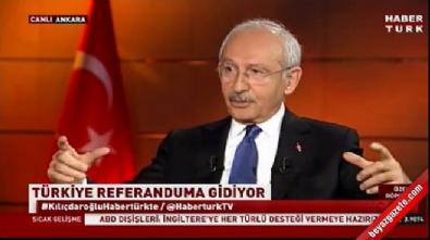 Kılıçdaroğlu: Anavatan da Hayır diyor