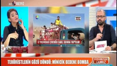6 yaşındaki çocuğun minik bedenine bomba koydular