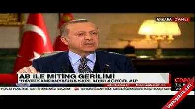 Cumhurbaşkanı Erdoğan'dan Steinmeier'e tepki