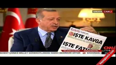 Cumhurbaşkanı Erdoğan: Saf tipler var