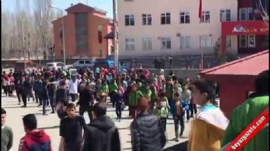 Horasan'da 4.2 büyüklüğünde deprem korkuttu