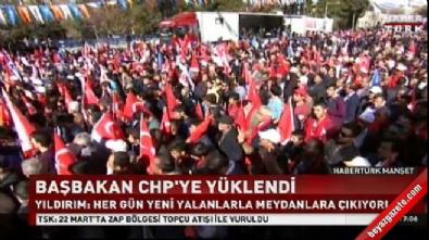 Yıldırım: CHP'de kimin genel başkan olduğu belli değil
