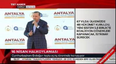 Cumhurbaşkanı Erdoğan: Gazi Mustafa Kemal'e neden ihanet ediyorsun?