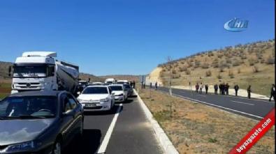 Diyarbakır - Mardin yolu kapatıldı