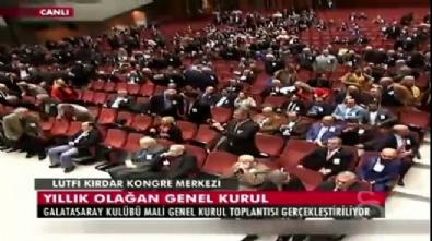 Galatasaray Kurulu'nda İzmir Marşı