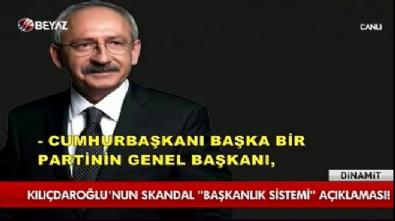 Kılıçdaroğlu'nun skandal başkanlık sistemi açıklaması
