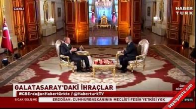 Cumhurbaşkanı Erdoğan: Kararın aidata bağlı alınmasını hafif buluyorum