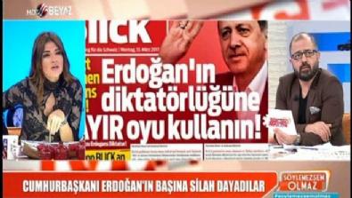 'Erdoğan'ın başına silah' suikast planının işareti mi?