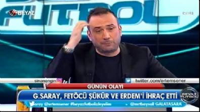 Ertem Şener: Hakan Şükür bağlanmak istemiş, buraya hainler bağlanamaz