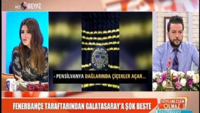 Fenerbahçe taraftarından Galatasaray'a şok beste