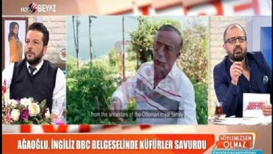 Ali Ağaoğlu, BBC belgeselinde kime, neden küfretti? İzle