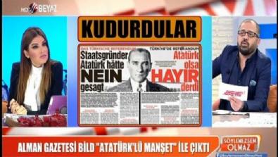 Alman gazetesi Bild Atatürk'ü böyle istismar etti Haberi