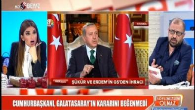 Cumhurbaşkanı, Galatasaray'ın kararını beğenmedi Haberi