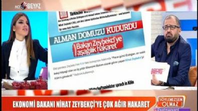 Ekonomi Bakanı Nihat Zeybekçi'ye çok ağır hakaret Haberi
