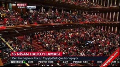 Cumhurbaşkanı Erdoğan canlı yayında kararname imzaladı