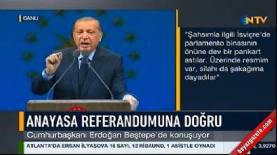 Erdoğan: Cumhurbaşkanı'nın Meclis'i fesih yetkisi yoktur