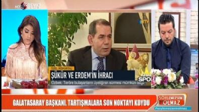 Galatasaray başkanı: Hakan ve Arif FETÖ'den kovuldu
